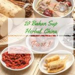 20 bahan Sup Herbal China Part 1