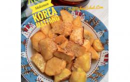 Resep Makanan Korea Mattang Ubi Jalar Berlapis Gula